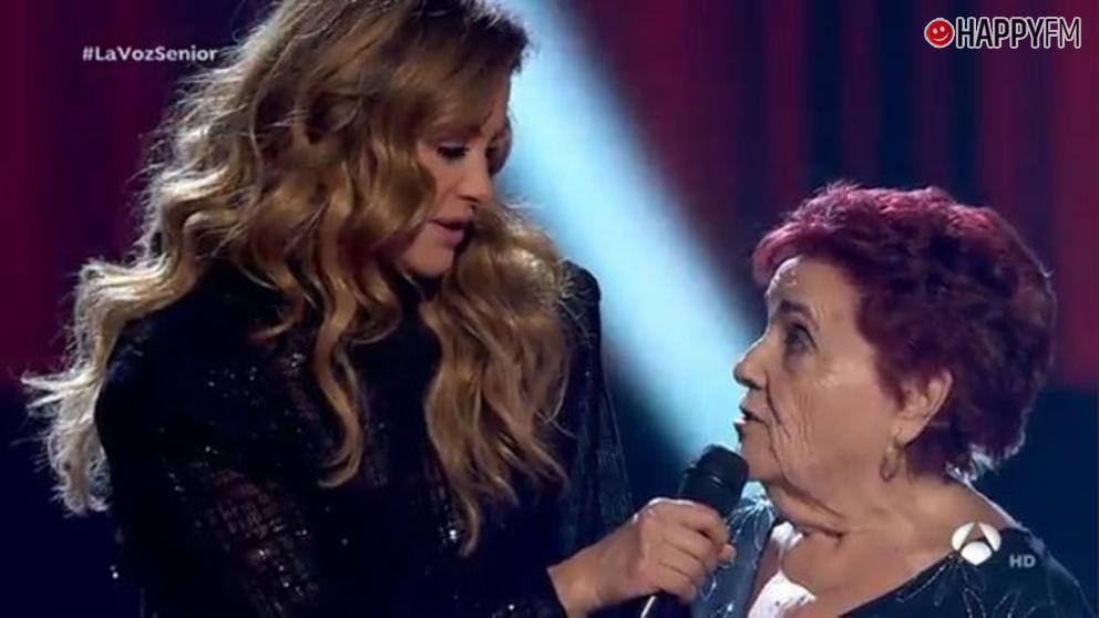 Paulina Rubio en 'La Voz Senior'