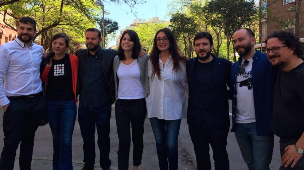 Candidatos de Unidas Podemos a las elecciones autonómicas, municipales y europeas 2019 en una foto de familia. Foto: EP