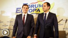 Albert Rivera e Ignacio Aguado. (Foto: Flickr)