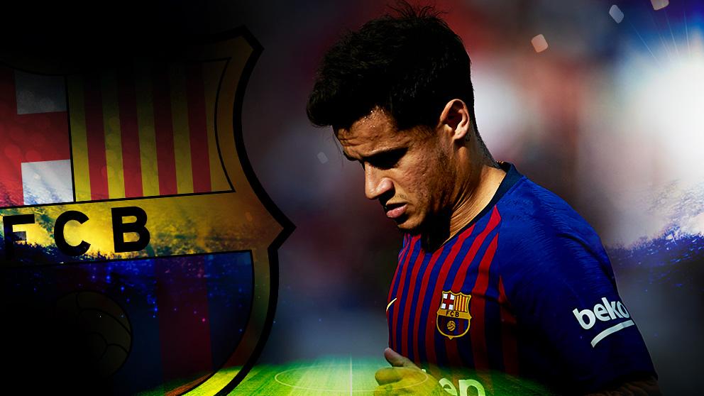 El Barça podría quitarse a Coutinho de encima.