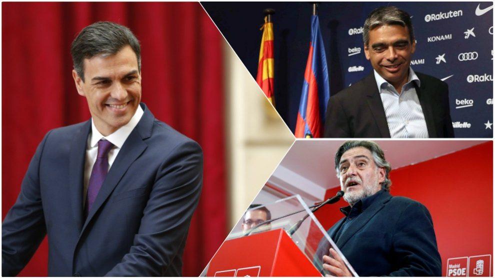 Pedro Sánchez valora la posibilidad de crear un ministerio de deportes.