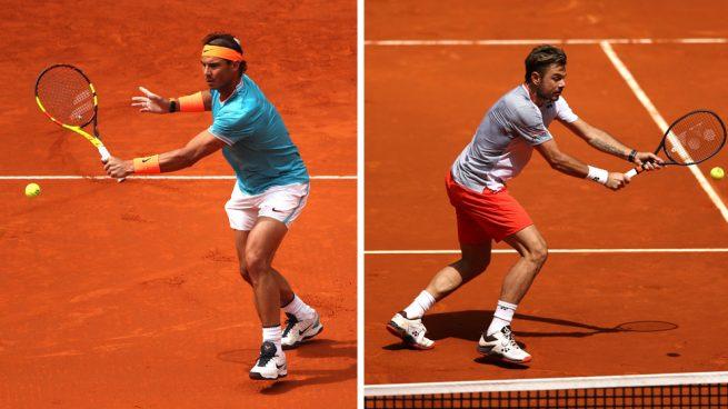 Mutua Madrid Open: Rafa Nadal vs Wawrinka, en directo