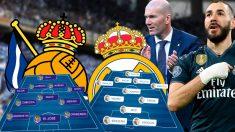 Real Sociedad y Real Madrid se enfrentan este domingo en Anoeta.