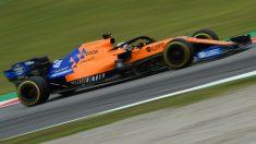 Carlos Sainz, en la clasificación del GP de España de Fórmula 1. (AFP)