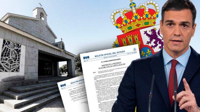 Decretazo de Sánchez: arrebata a la Corona el panteón de El Pardo elegido para enterrar a Franco