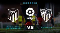 Atlético de Madrid – Sevilla: partido de la jornada 37 de la Liga Santander.
