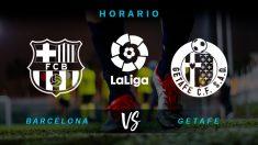 Barcelona – Getafe:  partido de la jornada 37 de la Liga Santander.