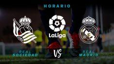 Real Sociedad – Real Madrid: partido de la jornada 37 de la Liga Santander.
