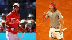Djokovic – Tsitsipas: La final del Mutua Madrid Open 2019, en directo