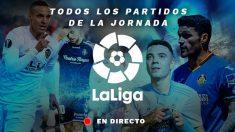 Liga Santander: Todos los partidos de hoy de la jornada 37, en directo.