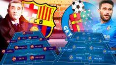 Barcelona y Getafe se enfrentan este domingo en el Camp Nou.