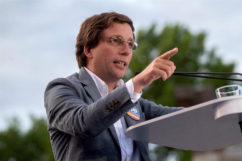 José Luis Martínez Almeida (EFE)