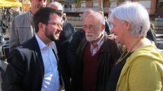 Pere Aragonés, lider de ERC @EP