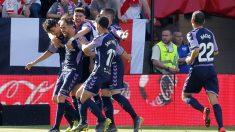 El Valladolid ya está salvado tras vencer al Rayo Vallecano. (EFE)
