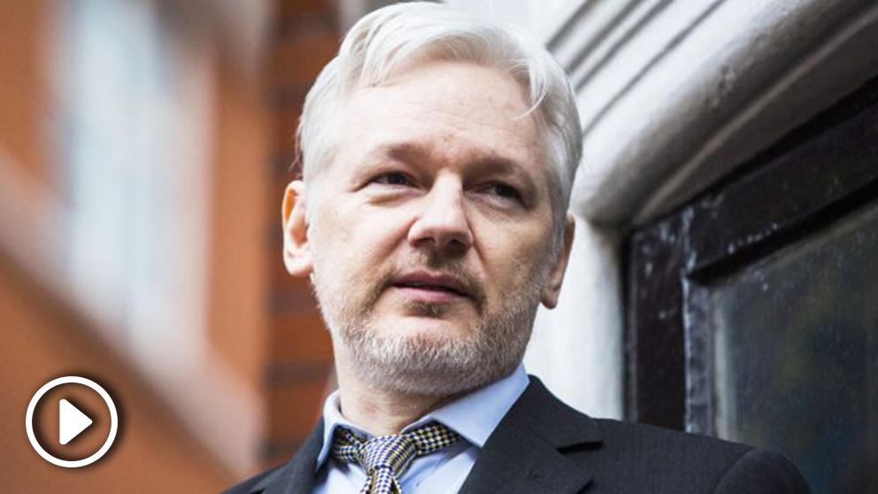 Julian Assange, recluido en la embajada de Ecuador en Londres desde 2012. (Foto: AFP)