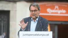 Artur Mas en un acto de JxCat (Foto. @ Twitter)