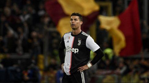 Cristiano,-durante-el-partido-ante-la-Roma-(AFP)