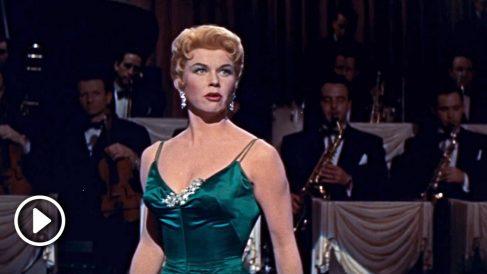 La estrella de Hollywood Doris Day.