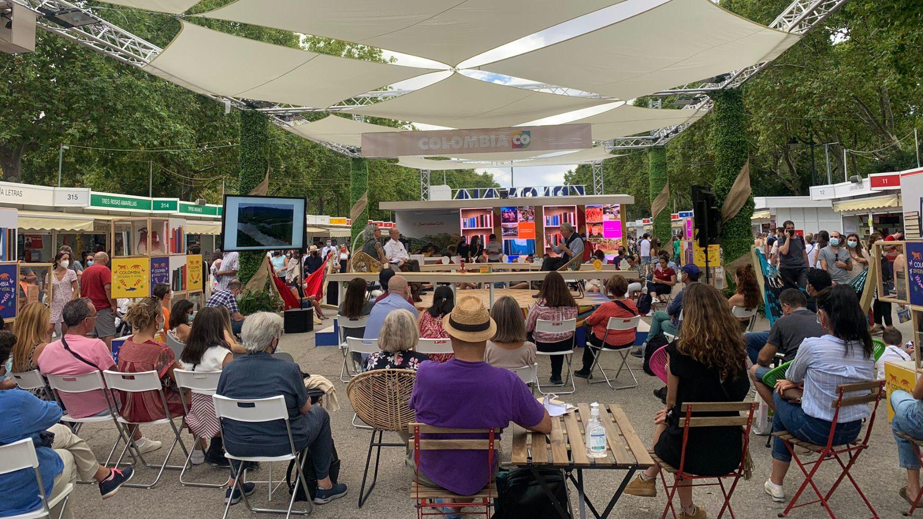 Casetas de la Feria del Libro de Madrid. (Foto: Feria del libro)