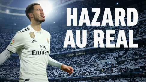 L'Equipe ya viste a Hazard con la camiseta del Real Madrid.