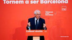 El candidato del PSOE a las elecciones europeas del 26 de mayo, Josep Borrell, durante su intervención en el acto de inicio de campaña del PSC.Foto: EFE