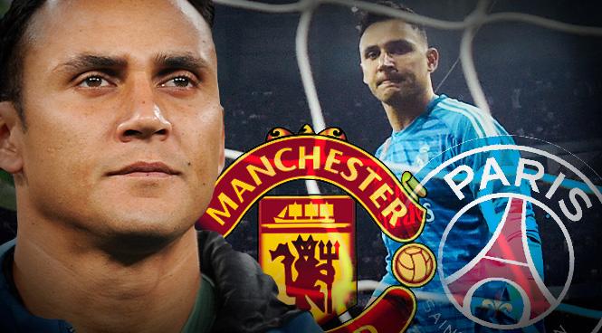 Keylor Navas se ha ofrecido al Manchester United y al PSG.