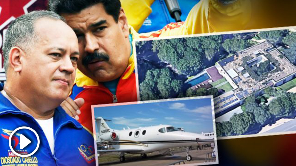 El presidente de Venezuela, Nicolás Maduro, y su hombre de máxima confianza, Diosdado Cabello.