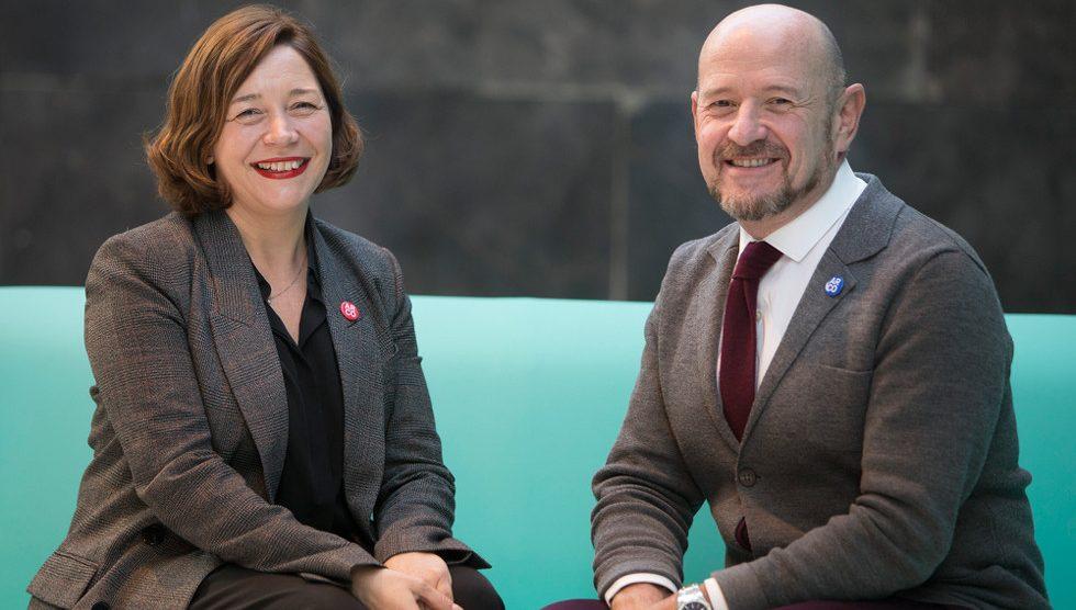 Maribel López y Carlos Urroz, directores de ARCO