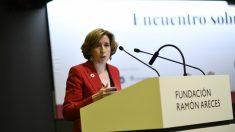 Ana de la Cueva, secretaria de Estado de Economía y Apoyo a la Empresa