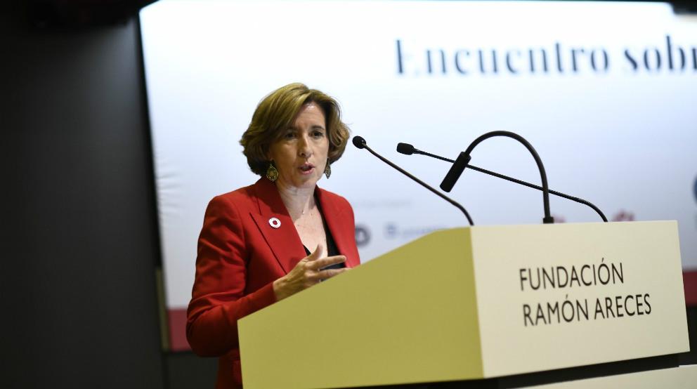 Ana de la Cueva, exsecretaria de Estado de Economía y Apoyo a la Empresa
