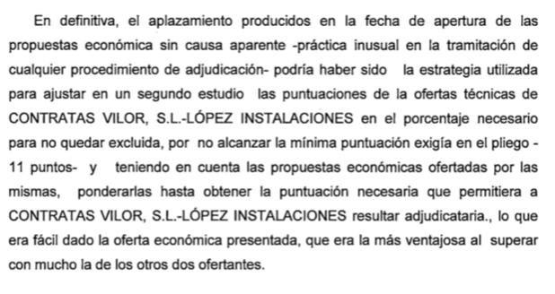 Una denunciante del 'caso Acuamed' imputada por prevaricación al manipular una adjudicación