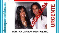 Las gemelas desaparecidas Osaro