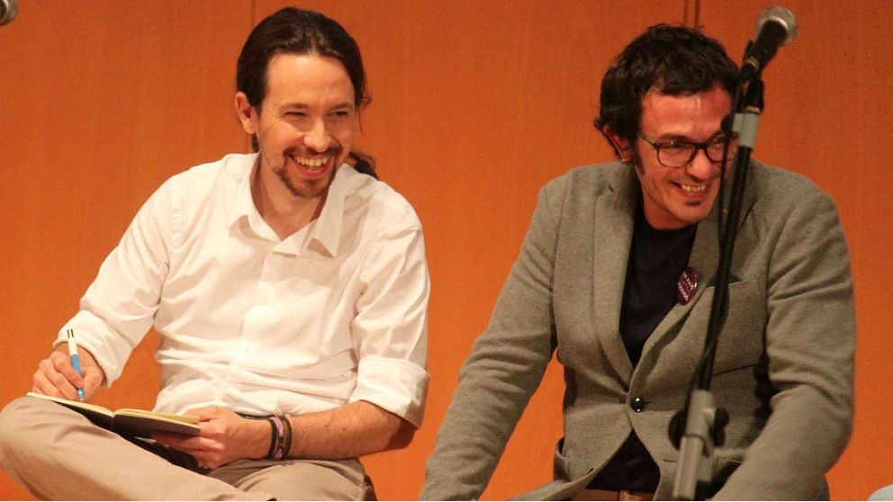 Iglesias y Kichi. Foto: Europa Press