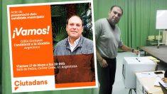 Odilo Enriquez es el candidato de C's en Argentona.