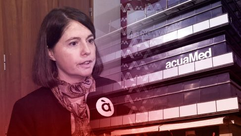 Gracia Ballesteros, una de las denunciantes del 'caso Acuamed', ahora imputada.