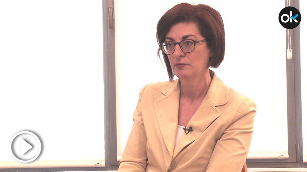 Maite Pagaza, número dos de Ciudadanos al Parlamento europeo el 26-M. (Imagen: Francisco Toledo)