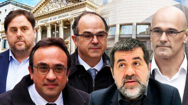 El Congreso suspenderá a los diputados golpistas con el voto en contra de Podemos