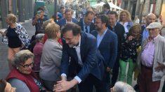 Mariano Rajoy en Las Palmas (Foto: EP)