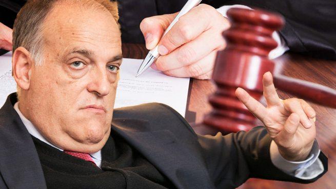 El Juez investiga a Javier Tebas por alzamiento de bienes entre los años 2008 y 2014