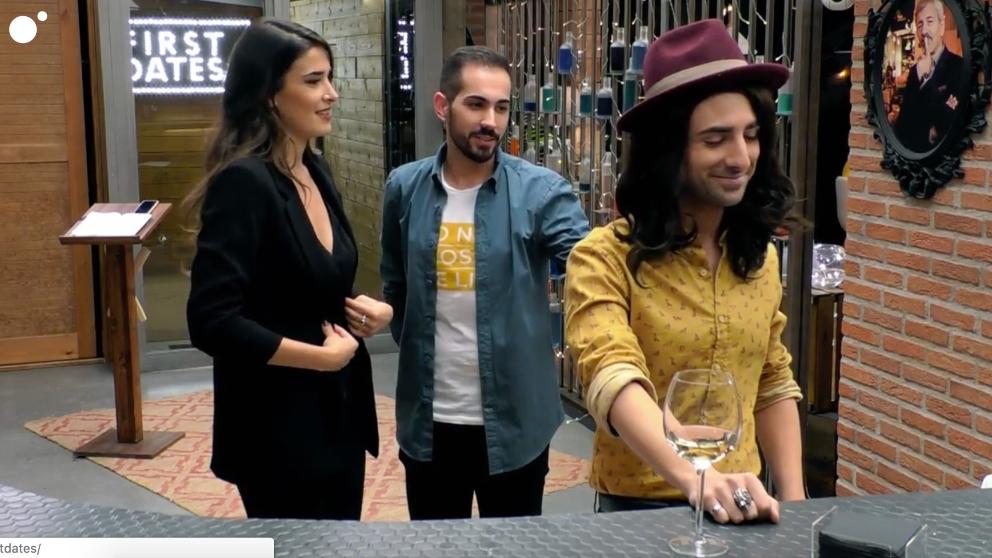 Fernando e Ismael tuvieron conexión en 'First Dates'