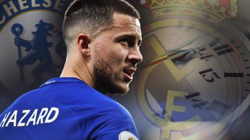 Hazard puede ser madridista antes de junio.