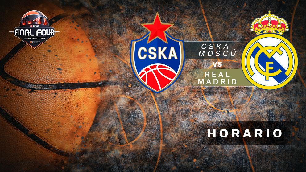 Final Four Euroliga 2019: CSKA Moscú – Real Madrid | Horario del partido de baloncesto de Euroliga.