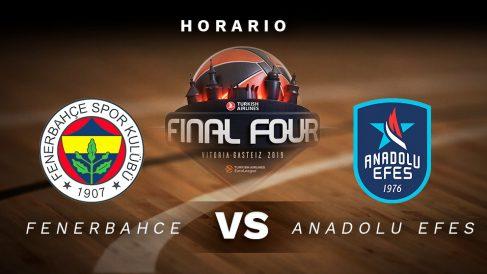 Fenerbahçe – Anadolu Efes: semifinal de la Final Four de la Euroliga.