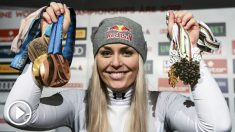 Lindsey Vonn, premio Princesa de Asturias de los Deportes 2019. (AFP)