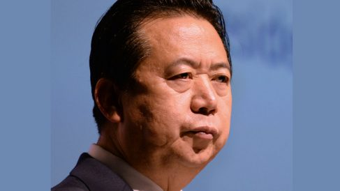 Meng Hongwei. Foto: AFP