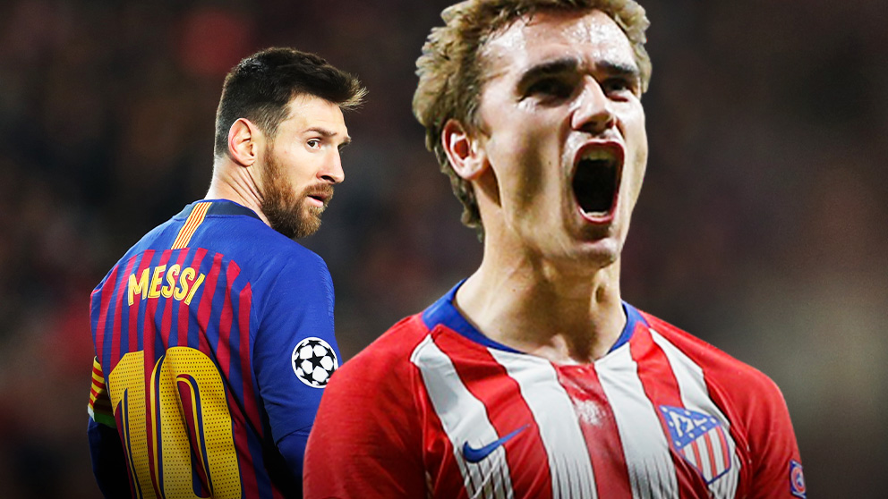 Messi y Griezmann podrían jugar juntos en el Barcelona.