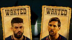 Messi y Piqué no han abierto la boca ni en público ni en redes desde Anfield.