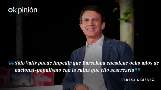 Manuel Valls, el candidato de la Barcelona abierta, próspera y moderna