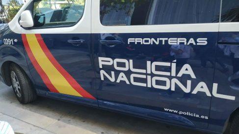 Furgón de la Policía Nacional. Foto: Europa Press