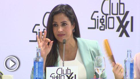 Begoña Villacís en el Club Siglo XXI @EP